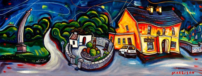 painting of Saint Brigid's Well