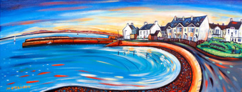 print 40x15cm of Cappa pier, Kilrush
