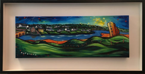 painting of Castle Course, Lahinch