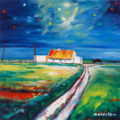 Doolin-Cottage painting by Phillip Morrison