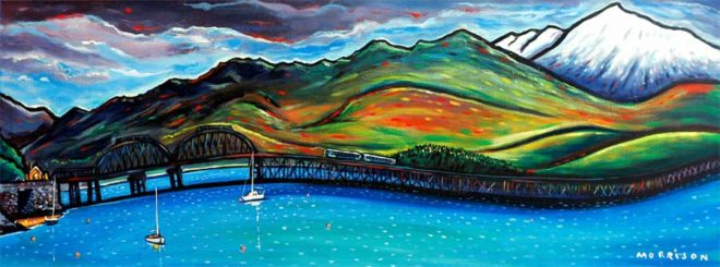 painting of the Mawddach